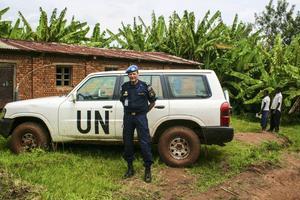 FN-polisen Urs Bütikofer från Ljusdal redo för nytt uppdrag i Kongo.
