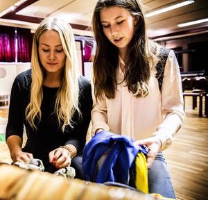 Frida Lundin och Sanna Melin har varit ledare för gruppen ideellt.
