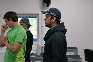 Anders Martinsson är tränare på skolan.