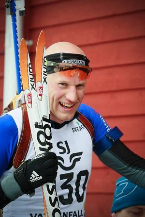 – Absolut en speciell känsla att få vinna SM-guld när alla landslagskompisar finns på plats och står för konkurrensen. Det är ju första gången, sa Carl-Johan Bergman.