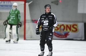 Erik Petterssons fyra mål tog SAIK från 2–1 till 6–1 på 20 minuter.