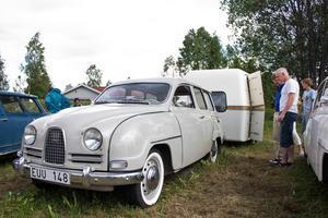 Stefan Elovssons Saab-ekipage.