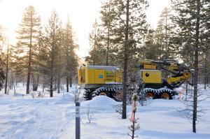 Nu finns Nordic Mines med borrutrustning på plats för att inleda sökandet efter silver nordöst om Storbo.