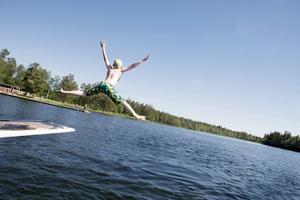 Det är låga bakterienivåer i Östersunds kommuns badvatten.