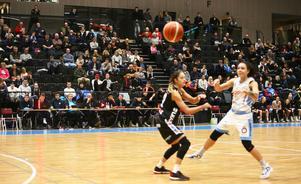 Danielle Elvbo stod för en fin insats under lördagen. Med sina 11 poäng var hon en av lagets bästa poängplockare.