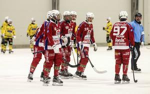 Christoffer Norin, med nummer 91 på tröjan, kan vara på väg till Villa Lidköping.