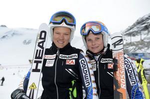 Redo för att utmana Rettenbacherglaciären är Anna Swenn Larsson och Nathalie Eklund, när världscupen inleds på lördag med storslalom.
