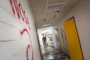 Lokalerna i den gamla maltfabriken har vandaliserats och bestulits.