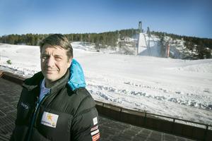 Johan Sares jobbade fram till i våras för svenska skidförbundet.