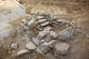 Ugrävningen vid Västra Kyrkogatan.