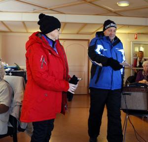 Sonja Johansson och Roger Andersson har pälsat på sig rejält.