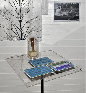 Harpsundspluggen har en hedersplats i utställningen.