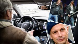 Petter eller Hammerfall när du kör bil? Helst inte enligt en ny studie.