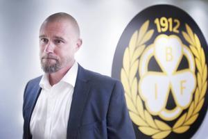 Johan Stark presenterades som klubbdirektör under tisdagen.