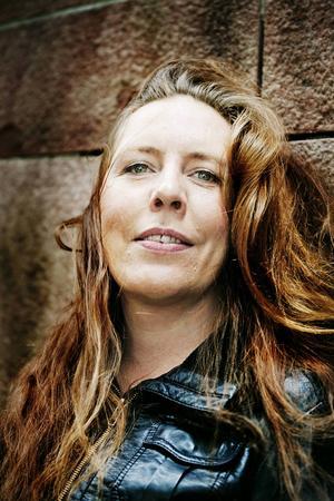 Martina Montelius – sjukt egensinnig romanförfattare och dramatiker som omskapar begreppet kulturtant.   Foto: Jessica Segerberg