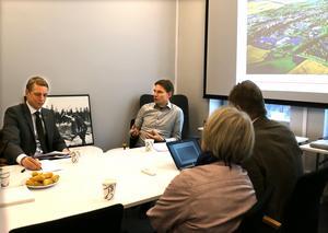 Niklas Hasselwander och Clas-Göran Classon beskriver händelseförloppet och förvaltningens intensiva arbete därefter.