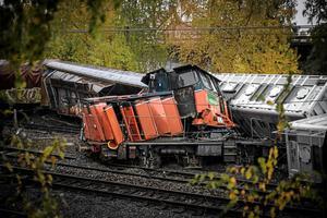 Vid godstågsolyckan strömmade cirka 2 000 liter diesel ut liksom några hundra liter hydraulolja. Nya oljeavskiljaren ska bidra till att en del av dessa föroreningar tas om hand.