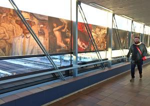 Nationalmuseum kommer visa konst på Centralstationen åtminstone fram till maj nästa år.