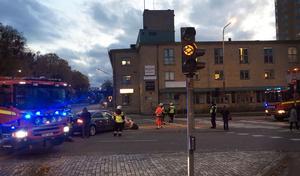 Trafikljusen visade gult blink till följd av arbete – och olyckan var ett faktum.