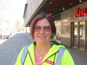 Lena Wiberg, 45, anläggare, Vagnhärad:– Det var i Spanien för några dagar sedan. Annars är det jättesällan.