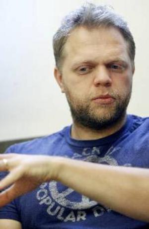 Anders Kronlund är hemlighetsfull.Foto: Henrik Flygare