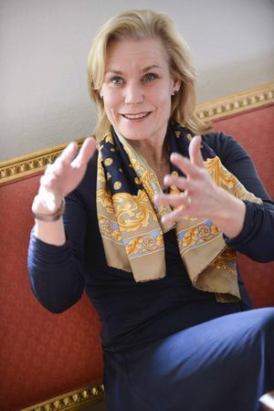 Omstridd. Biståndsminister Gunilla Carlsson sticker ut hakan och kräver mer styrning och större krav på resultat.