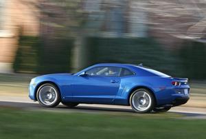 I sju år har entusiasterna väntat på nya Camaro. Nu är den ute hos handlarna i USA och några exemplar har till och med nått svensk mark.  Foto: Wieck