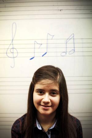 Lilit Najjar gick statlig musikskola i Syrien och är en stor talang. Nu bor hon på Frösön efter en mycket svår flykt.