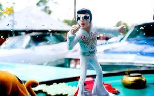 """Elvis """"The King"""" Presley"""" är svår att förbise helt i ett sådant här sammanhang. Foto: Sofie Lind"""