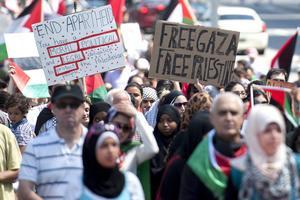Gunnar Olofsson, debattör och medlem i Palestinagrupperna är starkt kritisk till Israels agerande i Gaza.
