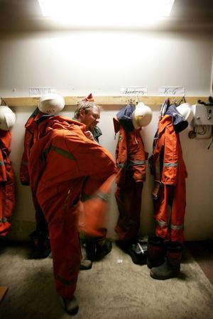 En av de frivilliga brandbekämparna i räddningsvärnet i Pilgrimstad sommaren 2007 var Tomas Eriksson. På senare år har värnet varit vilande.