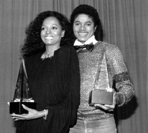 Michael Jackson och Diana Ross