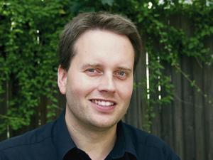Författaren Niclas Sennerteg.