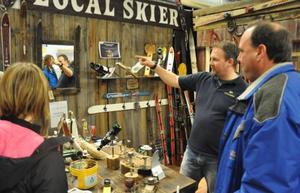 Jens Olofsson och hans företag Local Skier vann priset som bästa monter under mässan.