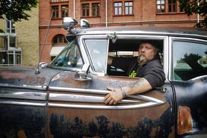 Mikael Lassander, ordförande för Razorback's Cruiser Älvkarleby.