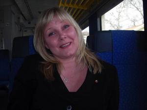 Det största järnvägssatsningen sedan slutet av 1800-talet presenterades runt om i landet av de röd-gröna i dag. I Östersund fanns riksdagsledamoten Marie Nordén (S).