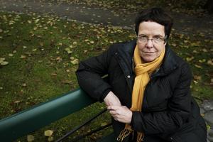 Elisabeth Unander är en av tre som jobbar på kvinnojouren i Sundsvall.