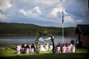 Anthony Caruana och Therse von Wachenfeldt blev under onsdagseftermiddagen äkta makar.
