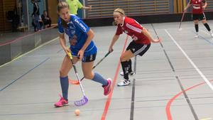 Malin Hellblad och resten av Per-Ols fick jaga IFK Arbogas spelare.