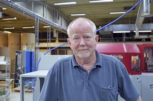 Kari Kastinen har jobbat som bokbindare i 48 år.