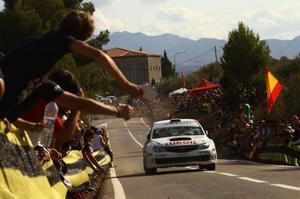 Patrik Flodin körde hem det spanska VM-rallyt.