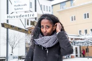 Det är en bisarr situation, men mer uthärdlig i Etiopien än här hemma tycker Emy Maru, dotter till hjärtläkaren Fikru Maru.