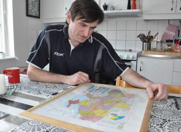 Oleksandr Matyyuk är orolig över sin familj i Ukraina.