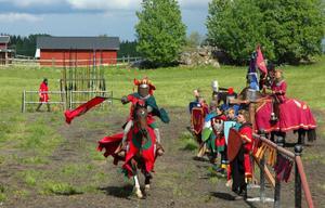 Den 13 juni bjuder Riddarsällskapet Jamtlandicum på ett fartfyllt och spännande tornerspel.