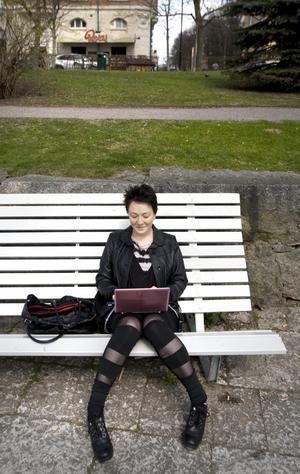 Ingen mörk biosalong. Alice Ylinen pluggar filmvetenskap vid Örebro universitet.