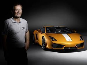 Valentino Balboni har präglat Lamborghinis bilar de senaste 40 åren. Nu får han en modell uppkallad efter sig själv.Foto: Lamborghini