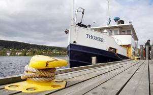 Sjökaptenen Jan-Åke Lindstrand ser en risk i att om Thomée säljs kommer fartyget kanske aldrig mer att trafikera Storsjön.