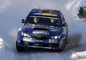 Patrik Flodin har fått en bra start på Vinterpokalen.