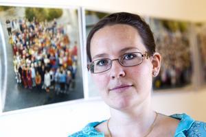 """Inte nöjd. """"Vi ska absolut ta upp konkurrensen. Vi är inte nöjda med att ha förlorat över 30 elever och vi ska marknadsföra oss mer"""", säger rektor Ingrid Ivarsson."""