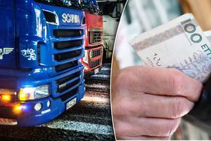Undantaget för lastbilar under 12 ton skapar också en obalans, där det är landsbygden där transportalternativen är få som får betala nästan hela notan.